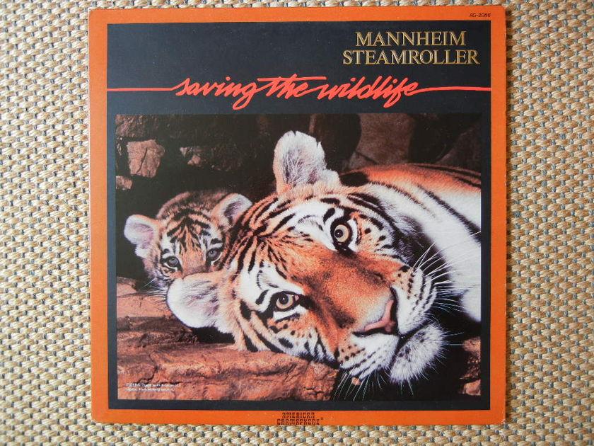 MANNHEIM STEAMROLLER/ - SAVING THE WILDLIFE/ American Gramaphone AG-2086