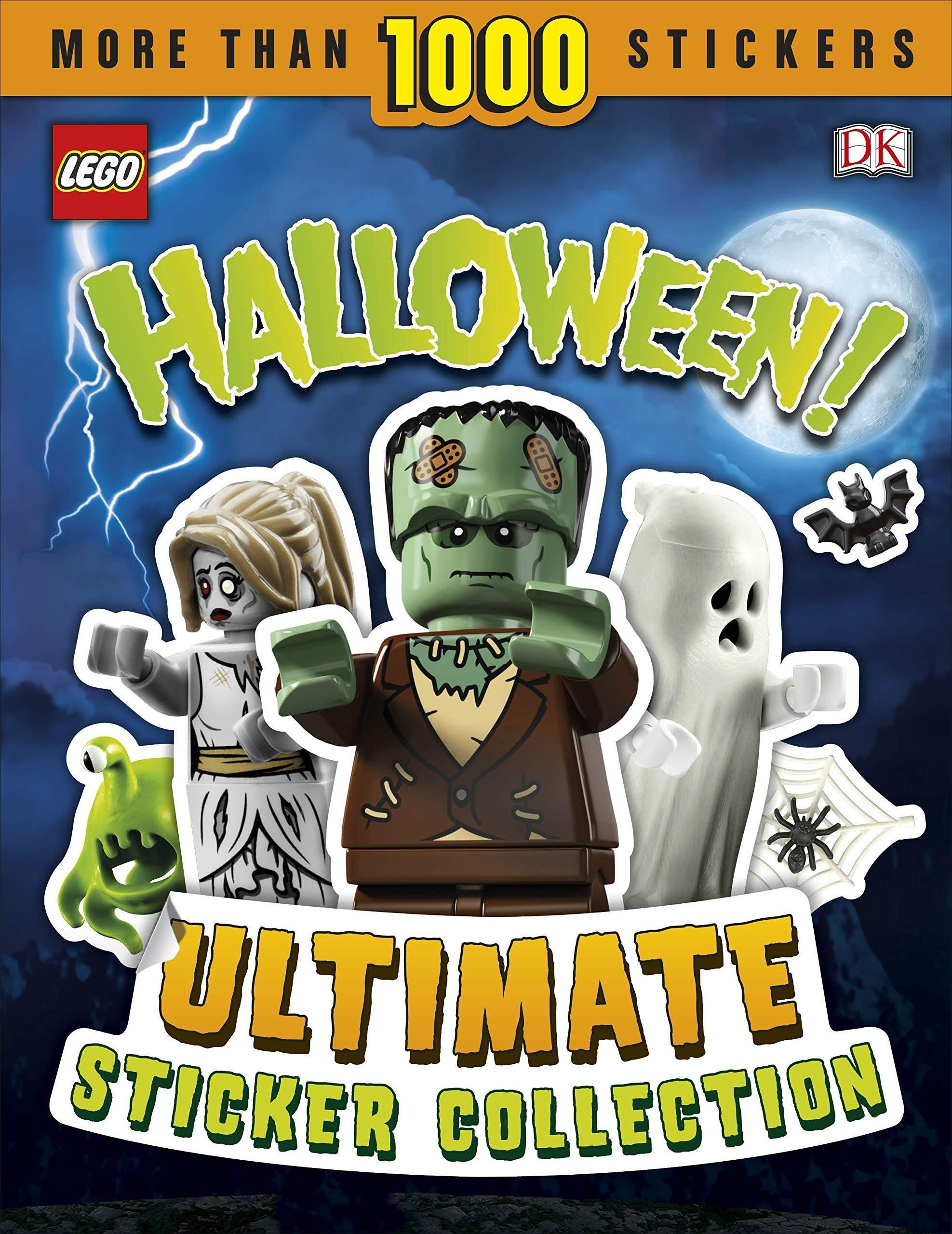 Lego Halloween Books from DK Books