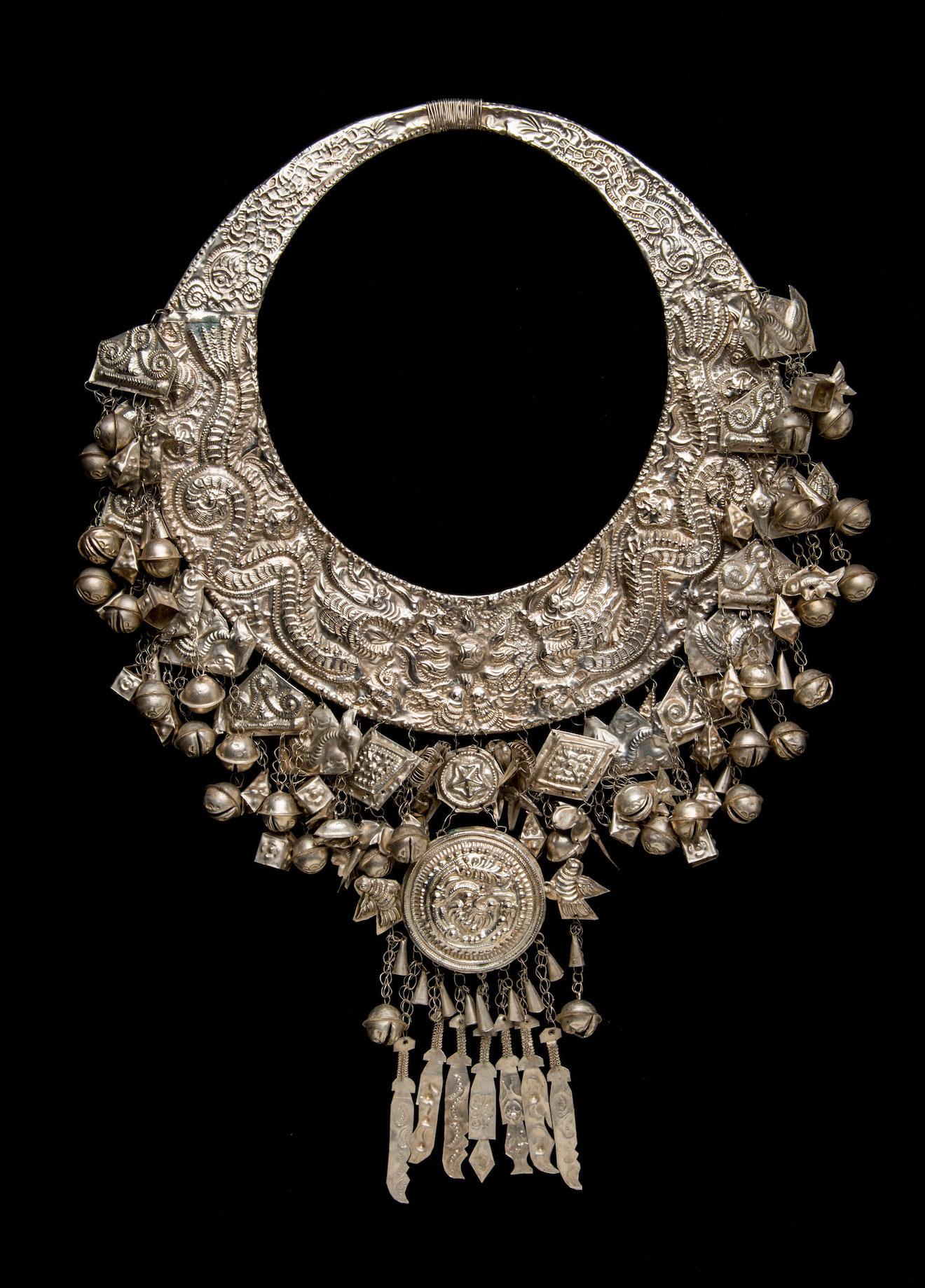 Necklace, China, (Miao)