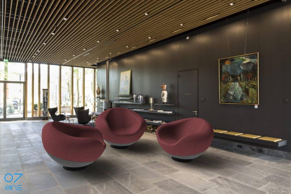 07eins / Concept and Product Design - Lounge Hemisphere Arrangement