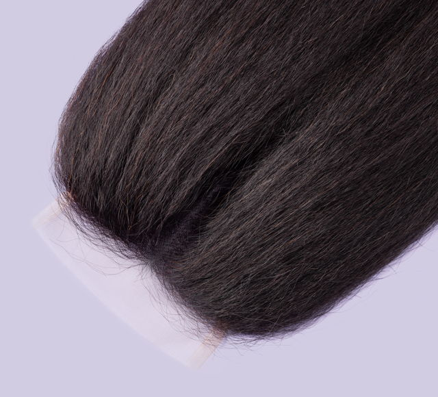 Kinky Straight Natural Black Closures Mayvenn