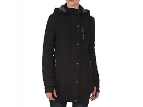 Bench Razzer ll Hooded Black Jacket