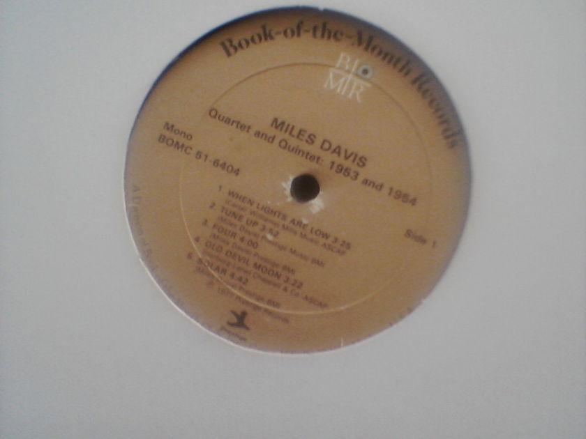 Miles Davis - Book of the Month Club mono LP