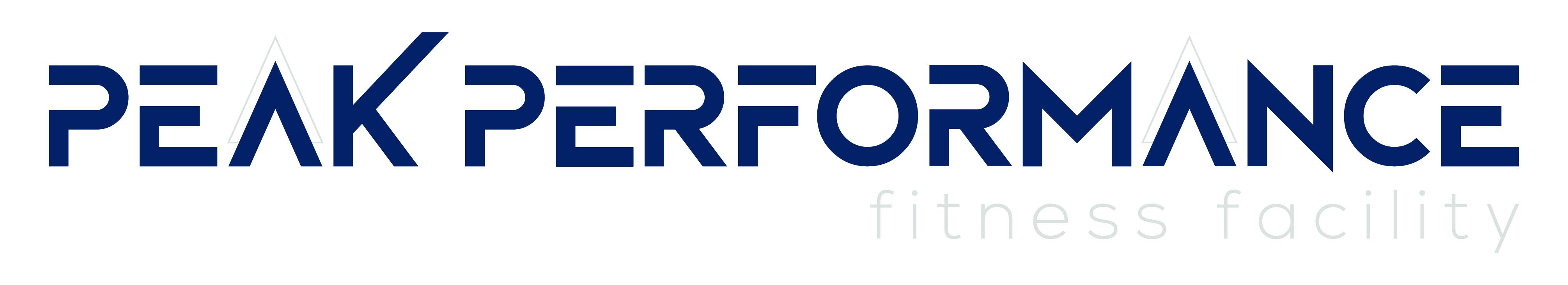 Peak Performance Fitness Facility logo