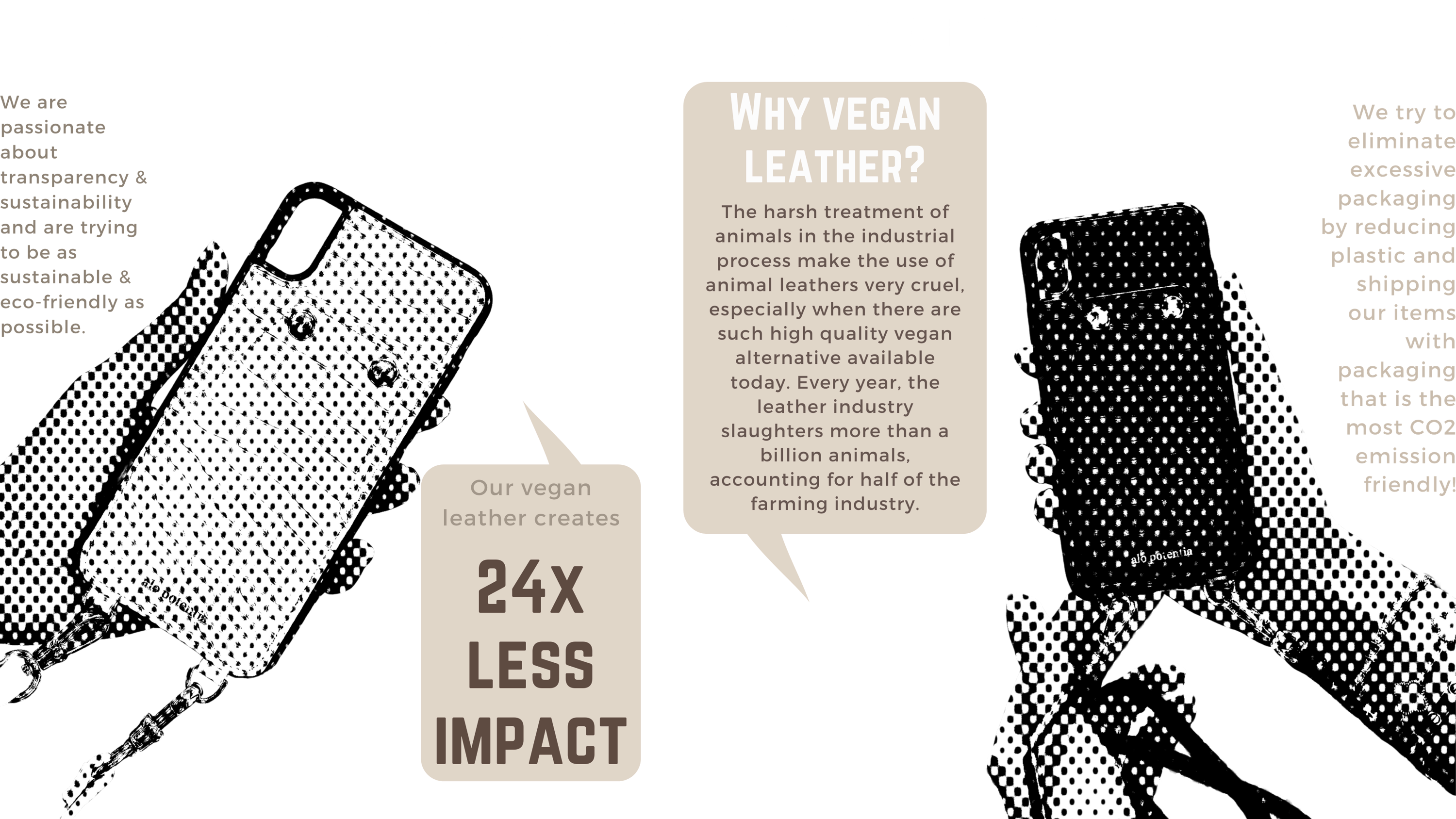 Sustainability Vegan Leather Information