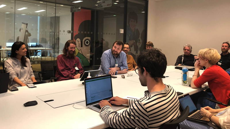 IOHK make a visit to Google's London offices
