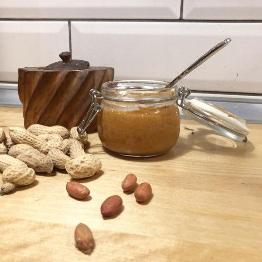 Натуральная и свежая арахисовая паста. 100 гр.