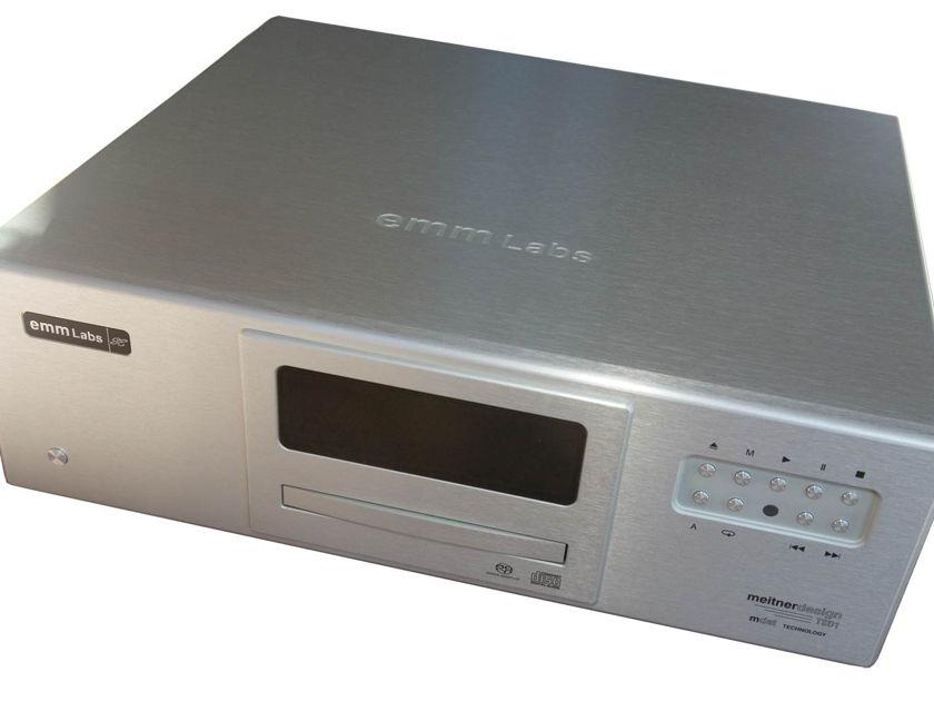 emm Labs DAC2 & TSD1 Transport Great Meitner Digital Audio
