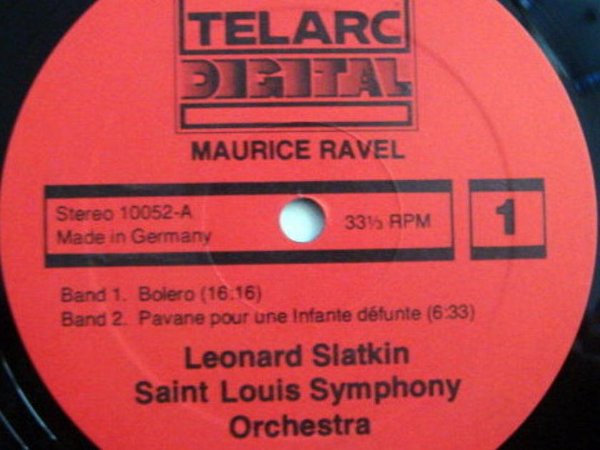 ★Audiophile★ Telarc / SLATKIN, - Ravel Bolero, Daphnis & Chloe, MINT!