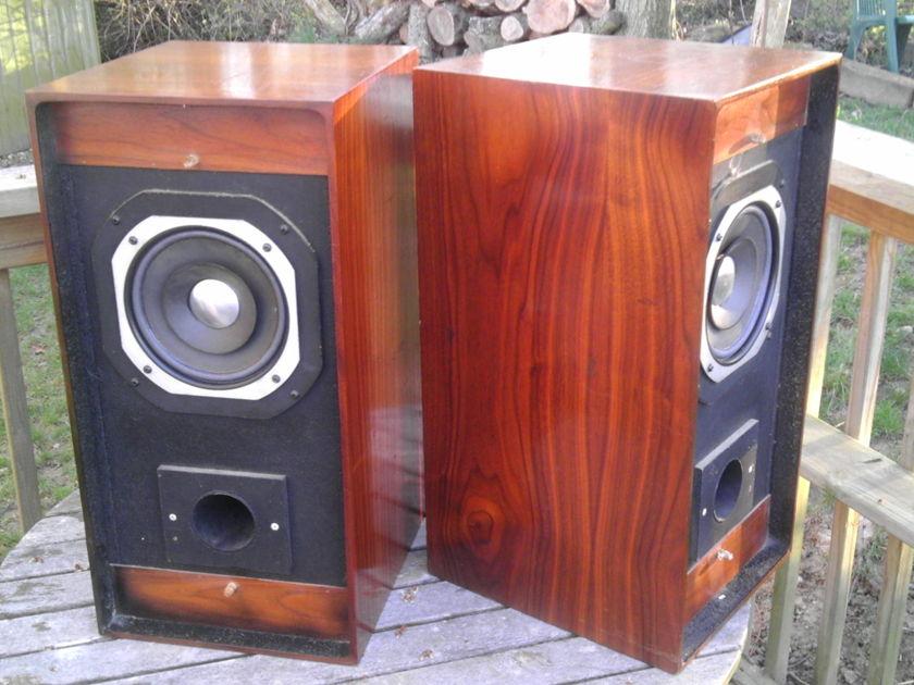 JBL C48 Madison LE8 Whizzer 16 Ohms Mahogany? Cabs  Liquid Midrange Rare Speakers