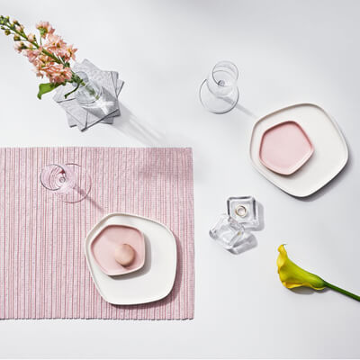 Issey Miyake Plates and Linens for iittala