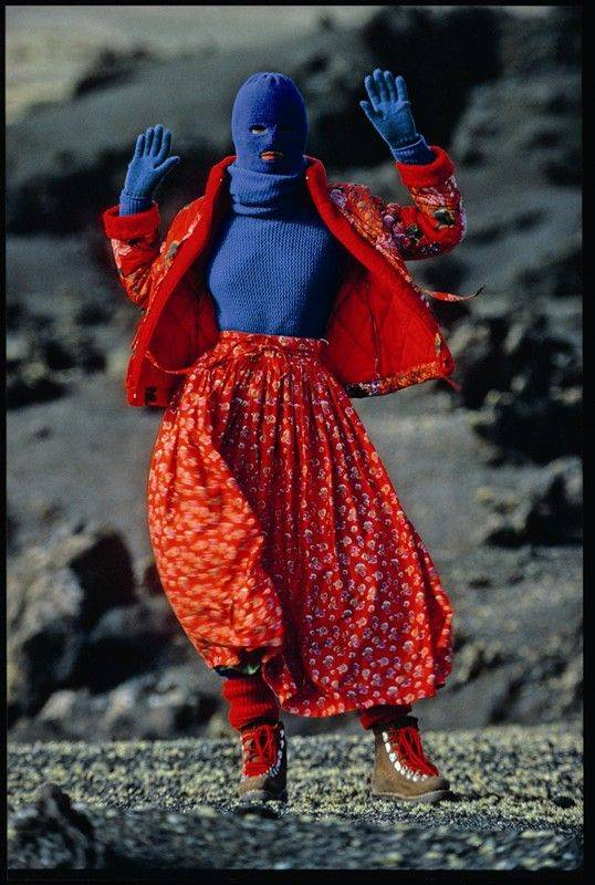 Kenzo Advertising Campaign 1983 Photography by Hans Feurer
