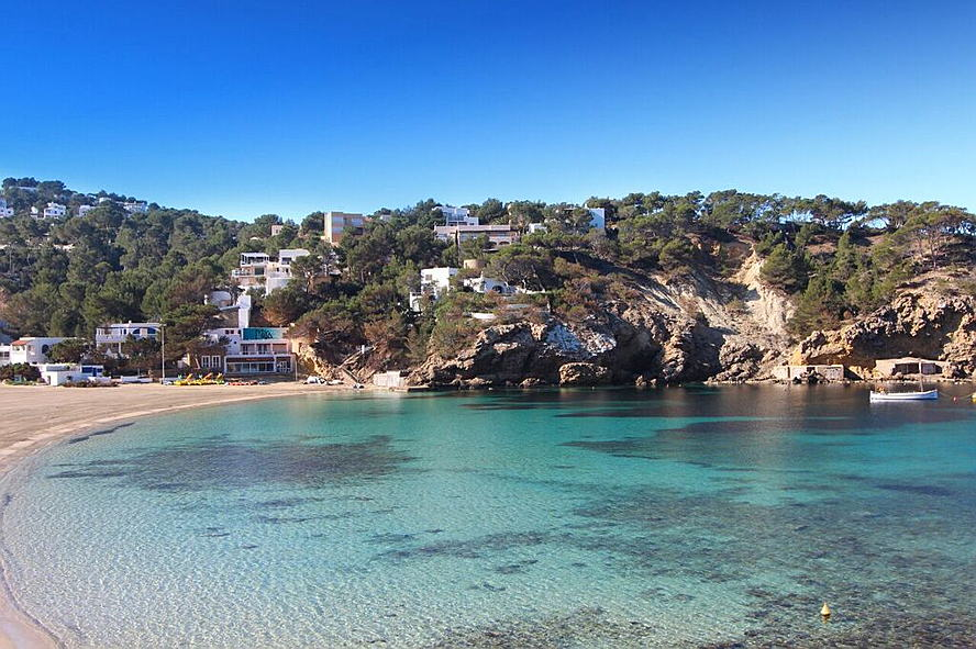 Ibiza - House with private beach access (San José)