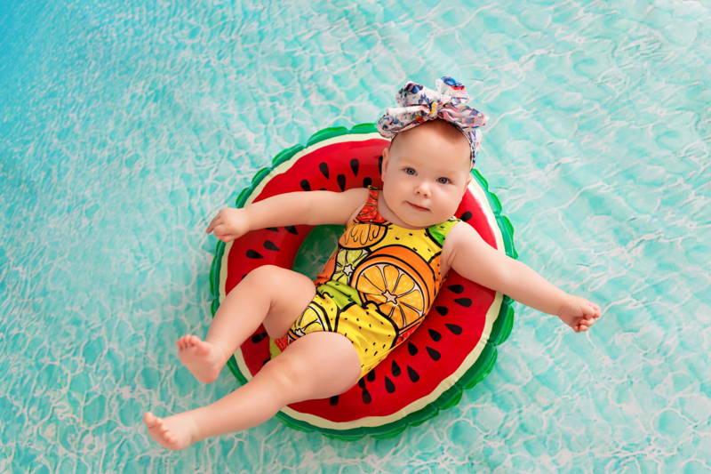 Strand a babával