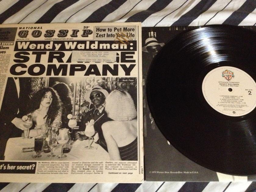 Wendy Waldman - Strange Company LP NM