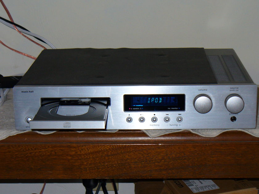 Music Hall Trio - 50WPC Receiver w/Built in CD Player Stereophile recommended