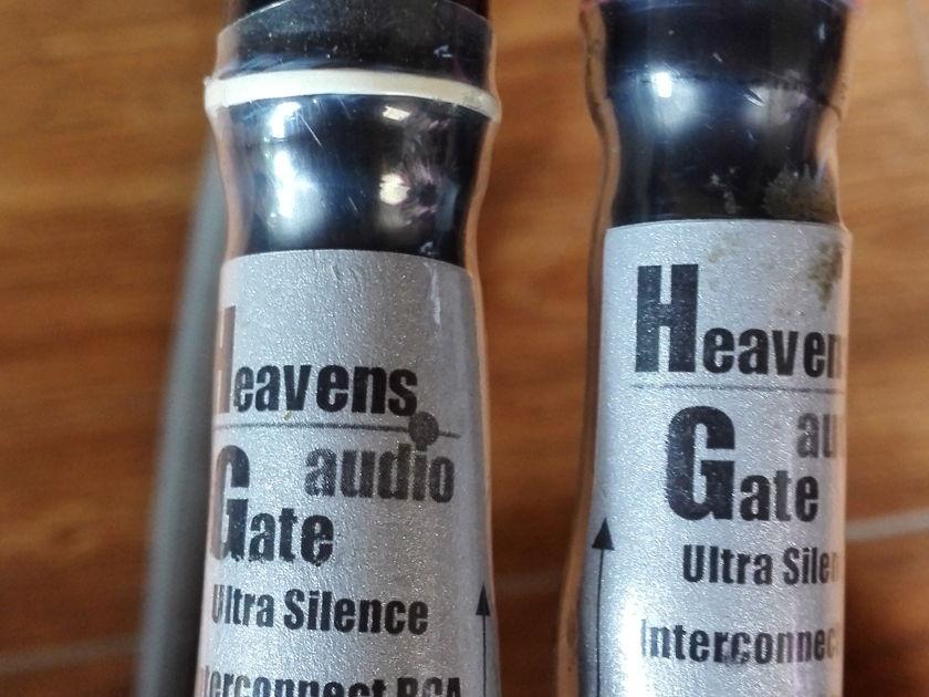 Heavens Gate Audio Ultra Silence 1M RCA Interconnect