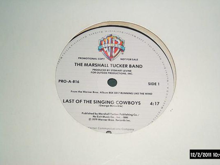 Marshall Tucker Band - Last Of The Singing cowboys promo 12 inch nm