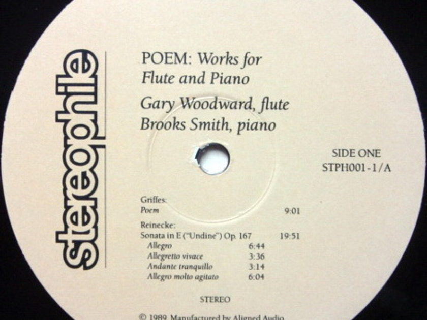★Audiophile 180g★ Stereophile / WOODWARD-SMITH, - Poem, MINT(OOP)!