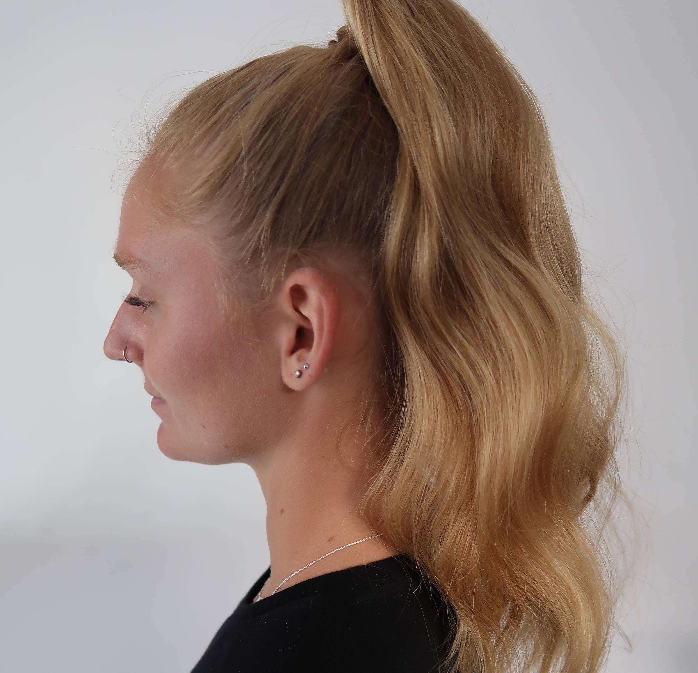 Davines tall ponytail how to tutorial