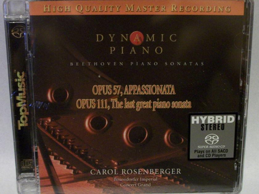 Carol Rosenberger, - Dynamic Piano, by top music brand new sacd