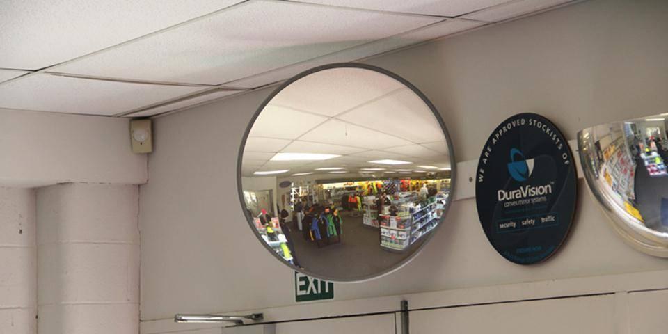 miroirs de sécurité convexes