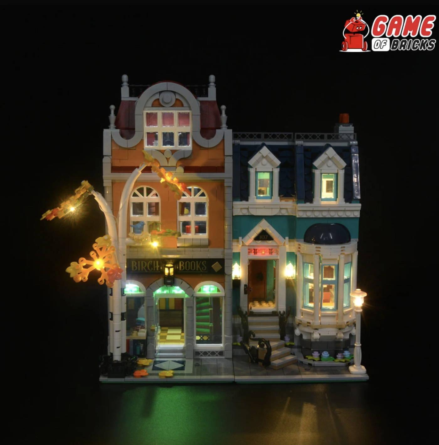 lego bookshop 10270 LEGO Lights