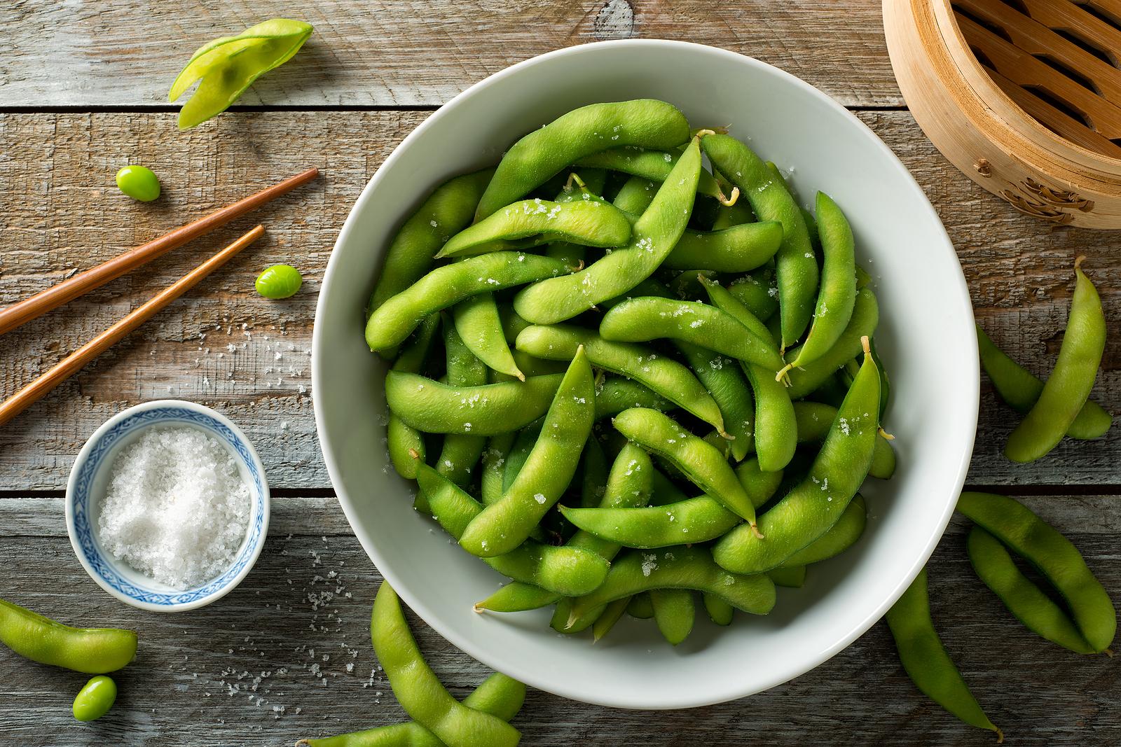 Edamame (Soybeans) With Sea Salt
