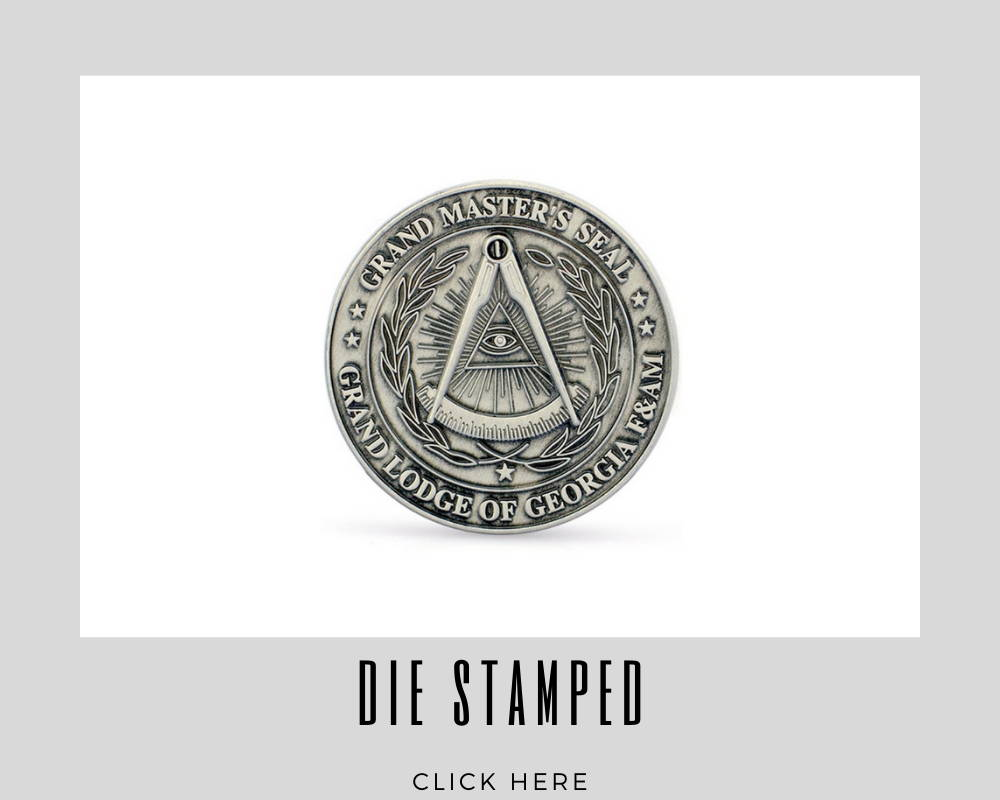 Corporate Die Stamped Challenge Coins