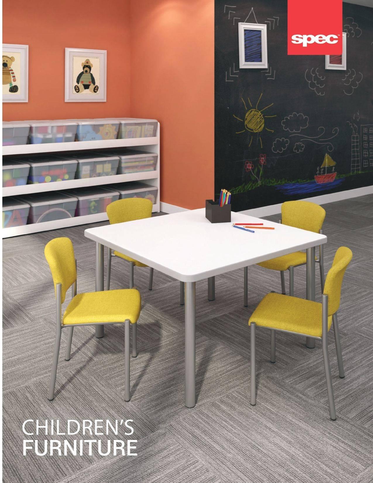 Spec Furniture Childrens Tables Brochure