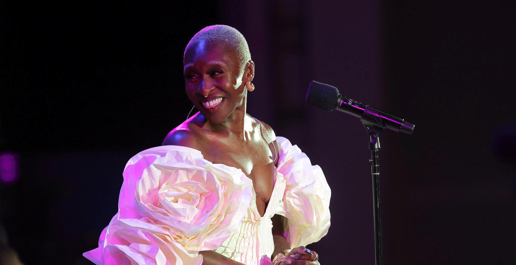 Cynthia Erivo, vocalist and special guest