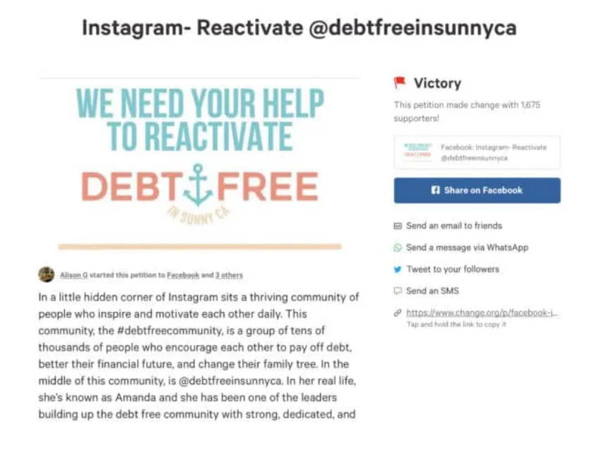Instagram Account Disabled? Here's How I Reactiavated my