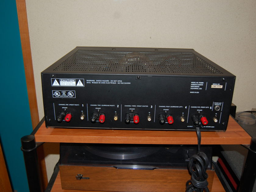 Harmon Kardon PA-5800 5- Channel Amplifier