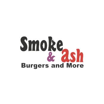 Logo - Smoke & Ash Burgers & More