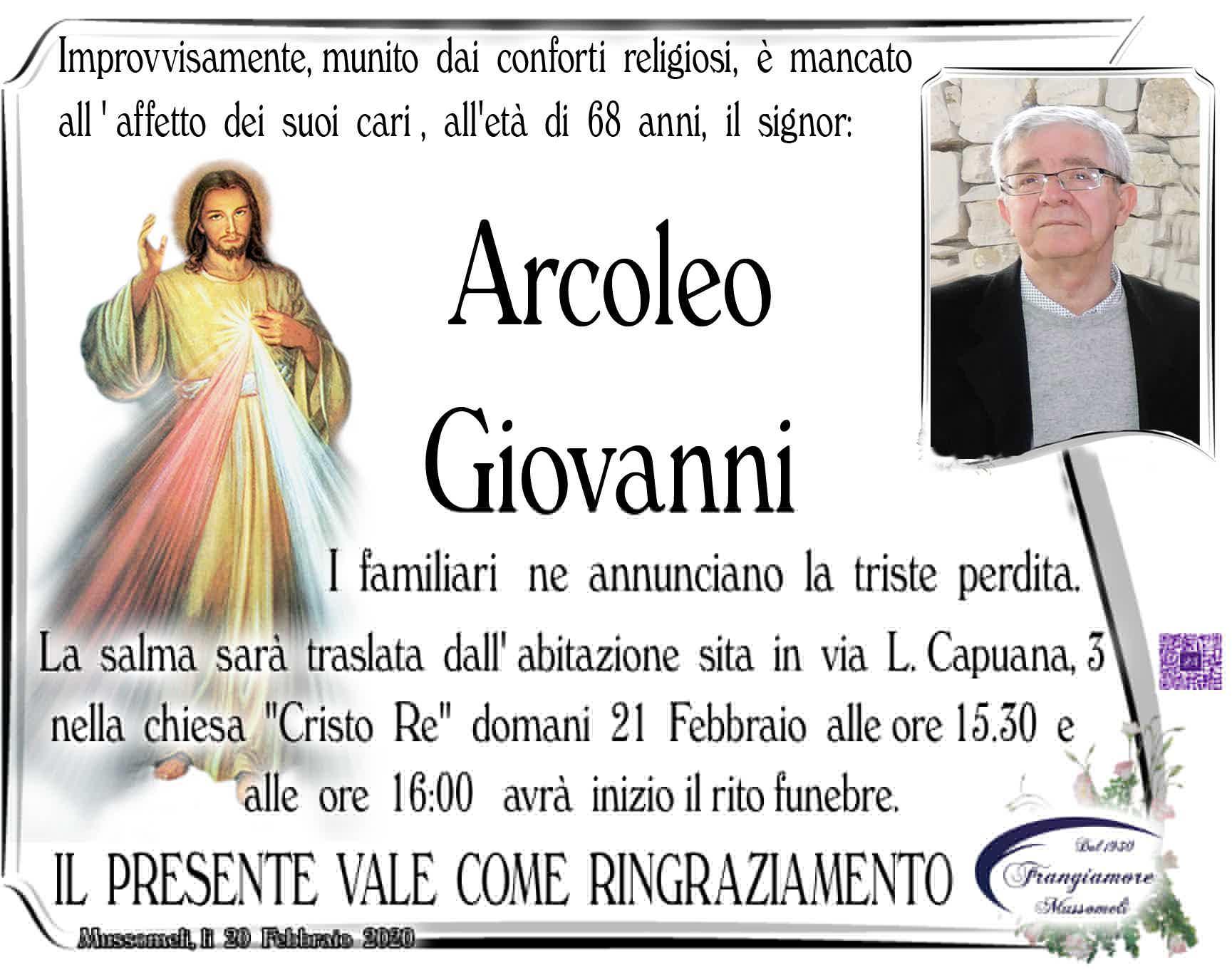 Giovanni Arcoleo