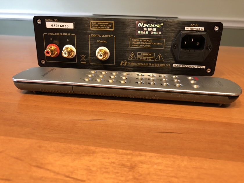Shanling Audio Pcd 3000a Cd Player With Headphone Amp Cd