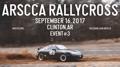 ARSCCA RallyCross 2017 Event #3