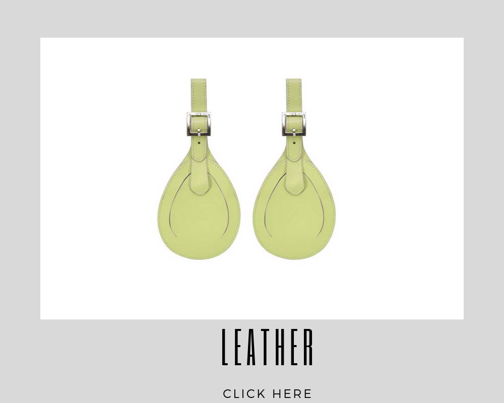 Custom Corporate Leather Luggage Tags
