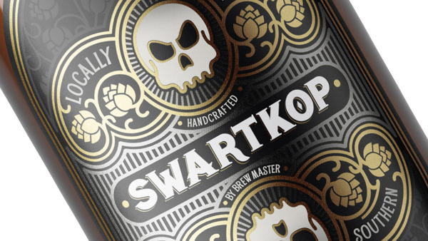 Swartkop Beer Label Design