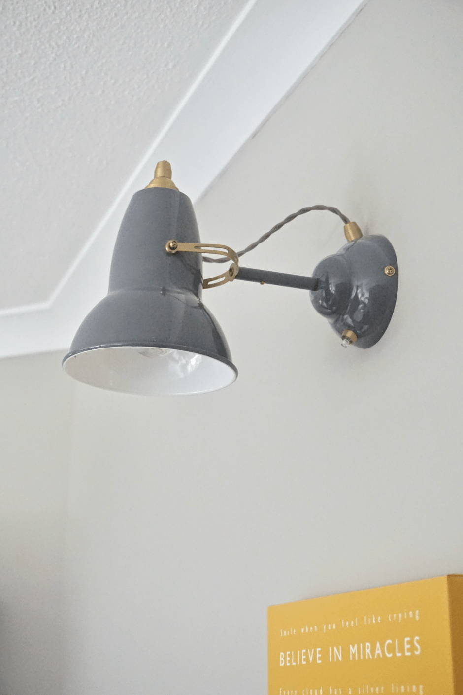 Anglepoise Original 1227 Brass Wall Light available from Inspyer Lighting