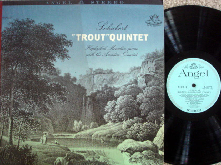 EMI Angel Blue / MENUHIN-AMADEUS QT, - Schubert Trout Quintet,  MINT!