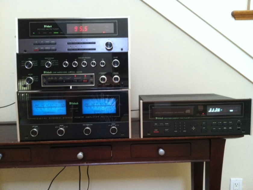 McIntosh Full System! MC 7270 with Preamp, Tuner & CD