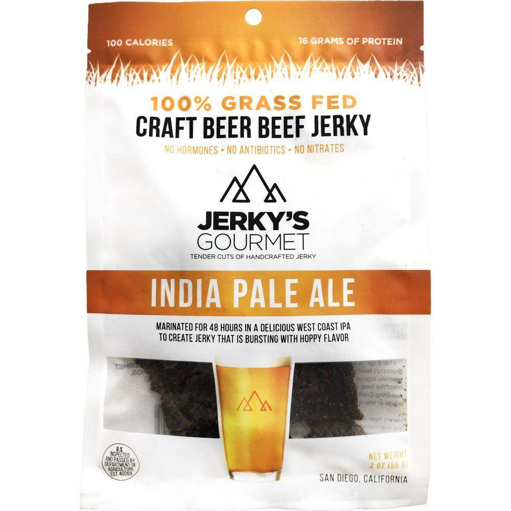 Jerky's Gourmet India Pale Ale Beef Jerky Low Sodium