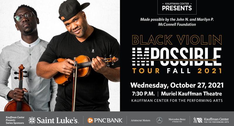 Kauffman Center Presents Black Violin Impossible Tour