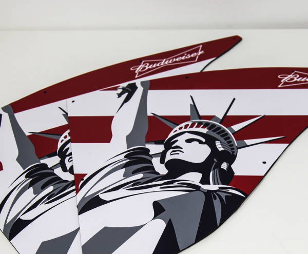 Stickers & Labels - Busweiser Statue of Liberty Stickers