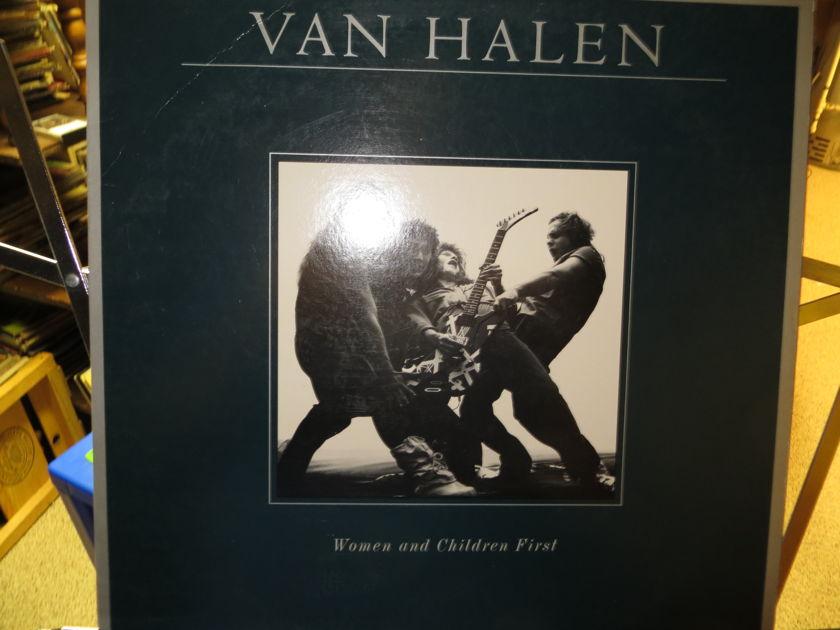 VAN HALEN - WOMEN AND CHILDREN FIRST W POSTER