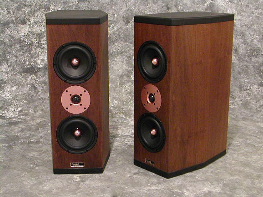 Tyler Acoustics D3M's in dark walnut! 2yr warranty