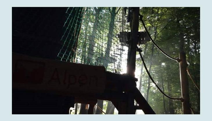 kletterwald freischütz der parcour