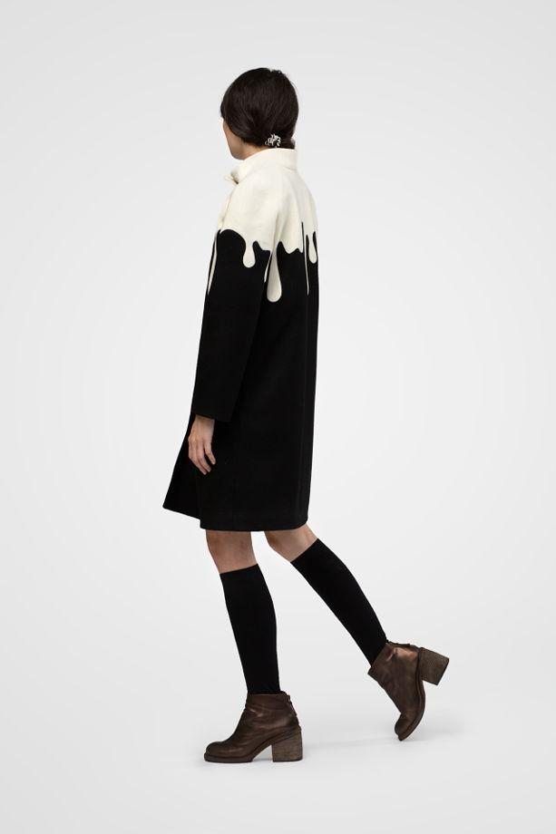 Пальто женское (ice cream coat)