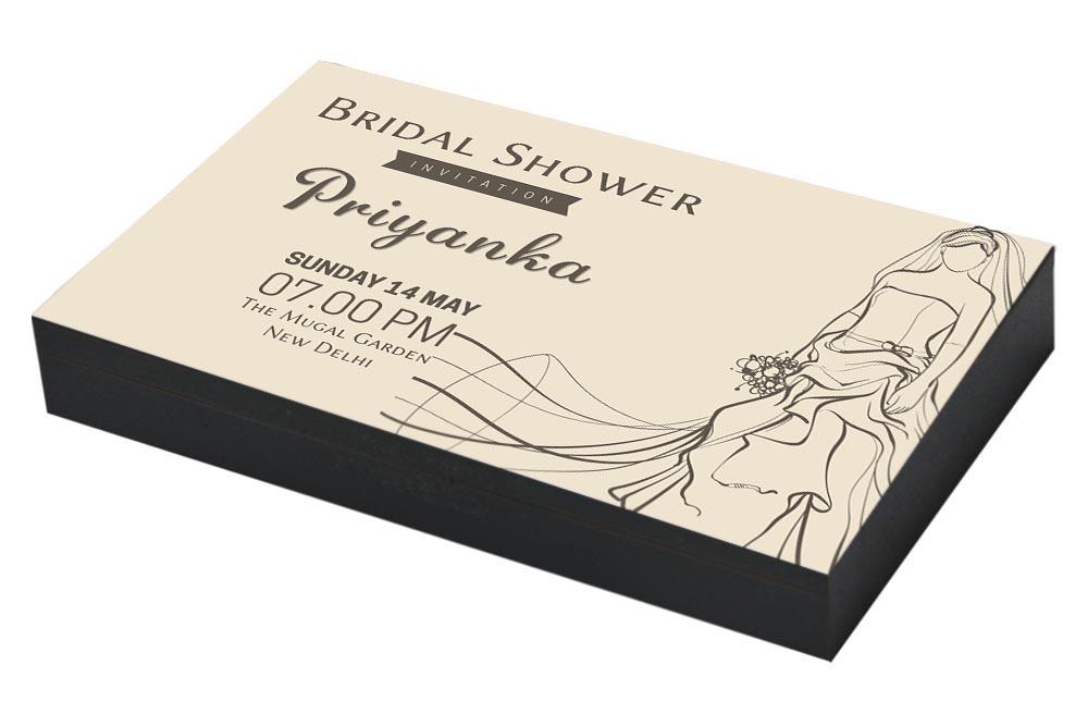 Vintage Invitation for Bridal shower